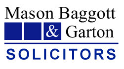 Mason Baggott and Garton Logo