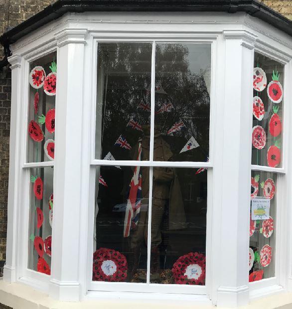 Window Display at Brigg