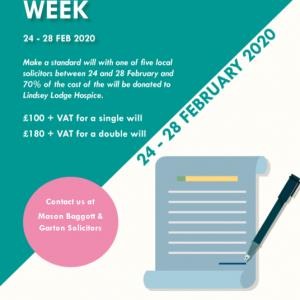 Make a Will Week
